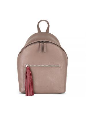 Рюкзак с кистью Avanzo Daziaro. Цвет: темно-бежевый