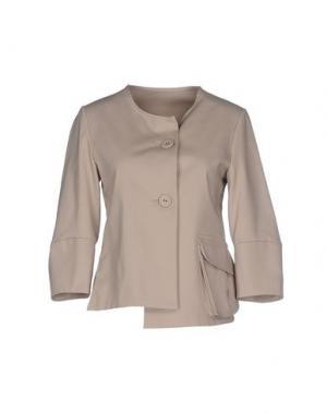 Пиджак CORINNA CAON. Цвет: песочный