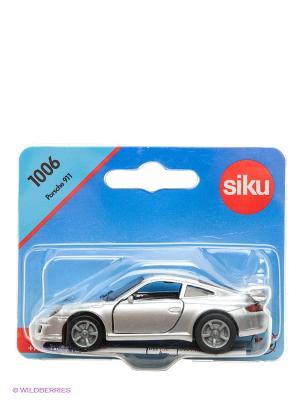 Машинка Порше 911 SIKU. Цвет: синий