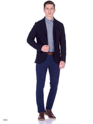 Пиджак 18CRR81 CERRUTI. Цвет: темно-синий