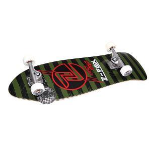 Скейт круизер  Street Rocket Black 31.5 (80.01 см) Z-Flex. Цвет: зеленый,черный,красный