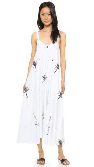 Платье Bombay VEDA. Цвет: белый алоэ