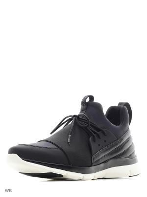 Кроссовки ASH. Цвет: черный, серый