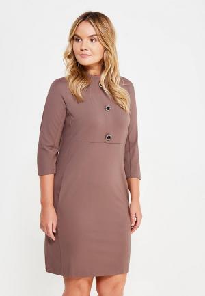 Платье Mankato. Цвет: коричневый