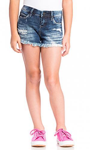 Обрезанные шорты BLANKNYC. Цвет: синий