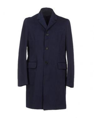 Легкое пальто MM by MARIOMATTEO. Цвет: темно-синий