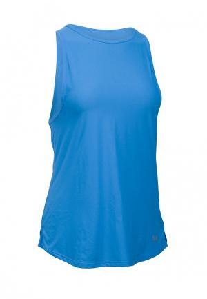 Майка спортивная Under Armour. Цвет: синий
