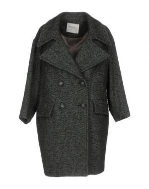 Пальто OTTOD'AME. Цвет: темно-зеленый