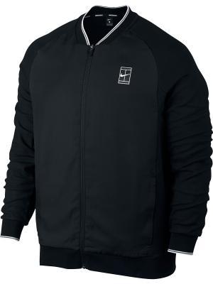 Куртка M NKCT JKT BASELINE FZ Nike. Цвет: черный, белый