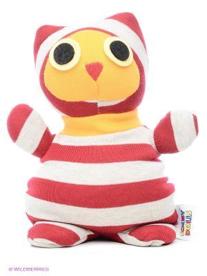 Игрушка-грелка Socky Dolls Сова Warmies. Цвет: красный