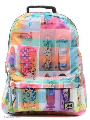 Рюкзак XTI. Цвет: розовый
