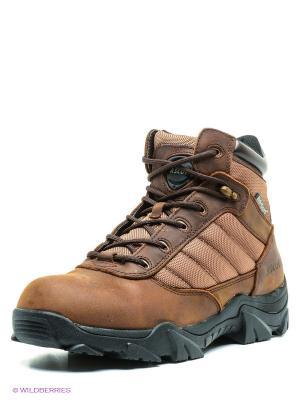 Мембранные ботинки Ascot. Цвет: коричневый, светло-коричневый