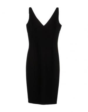 Платье до колена LAVINIATURRA. Цвет: черный
