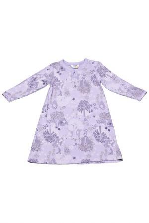 Ночная сорочка Joha. Цвет: сиреневый