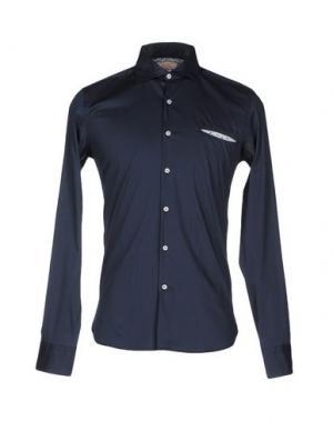 Pубашка D.R SHIRT. Цвет: темно-синий