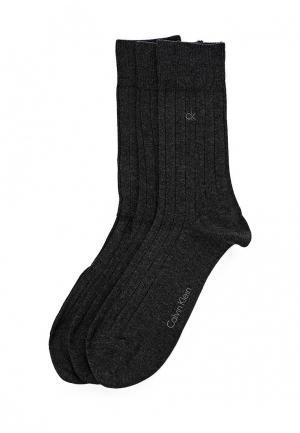 Комплект носков 3 пары Calvin Klein Underwear. Цвет: серый