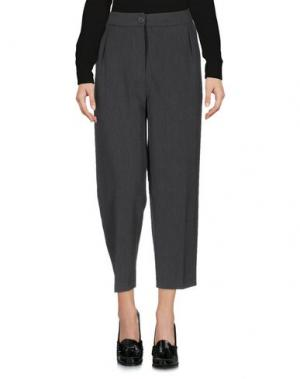 Повседневные брюки BERNA. Цвет: свинцово-серый