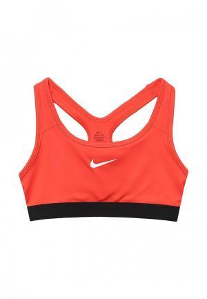 Топ спортивный Nike. Цвет: коралловый