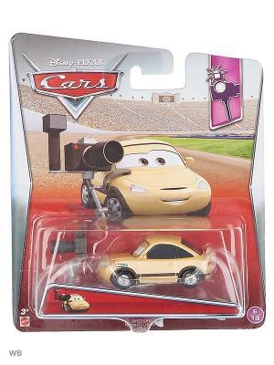 Машина Тачки 2 Mattel. Цвет: светло-желтый, кремовый