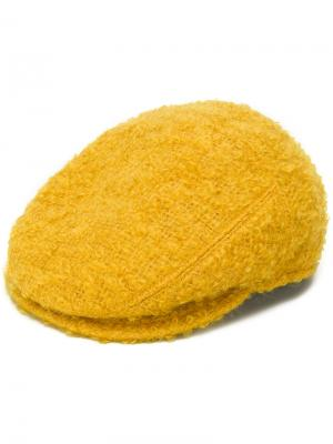Кепка букле Borsalino. Цвет: жёлтый и оранжевый
