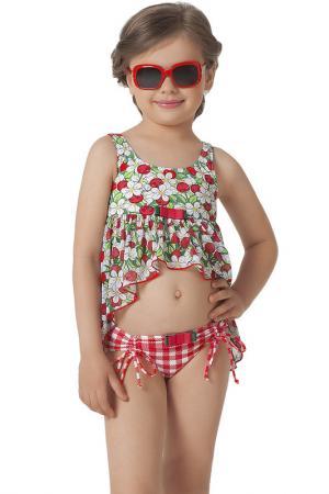 Комплект пляжный: топ, плавки Arina Festivita by Lora Grig. Цвет: мультицвет
