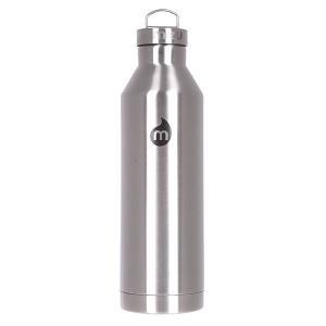 Бутылка для воды  V8 800ml Stainless W Black Print Steel Cap Mizu. Цвет: черный