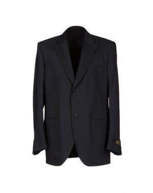 Пиджак MESSORI. Цвет: стальной серый