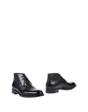 Полусапоги и высокие ботинки CAMPANILE. Цвет: стальной серый