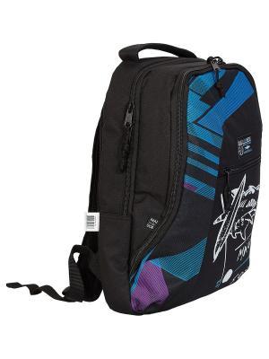 Рюкзак. Maui and Sons. Цвет: голубой,фиолетовый,черный