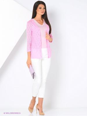 Накидка Milana Style. Цвет: розовый