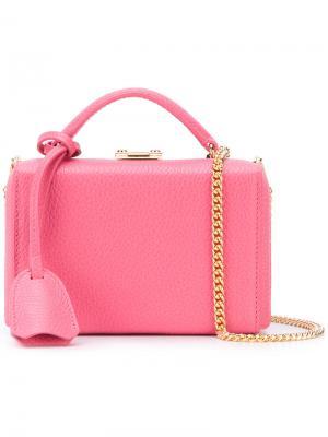 Сумка через плечо Grace Mark Cross. Цвет: розовый и фиолетовый