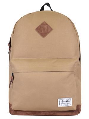 Рюкзак Street Bags. Цвет: бежевый
