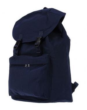 Рюкзаки и сумки на пояс WHITE MOUNTAINEERING x PORTER. Цвет: темно-синий