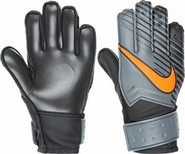 Перчатки вратарские детские  Match Goalkeeper Nike. Цвет: черный