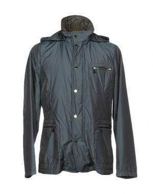 Куртка MOORER. Цвет: свинцово-серый