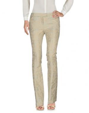 Повседневные брюки NEW YORK INDUSTRIE. Цвет: бежевый