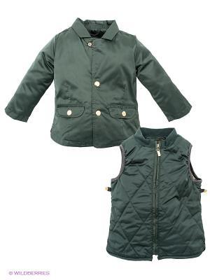 Куртка Senbodulun. Цвет: темно-зеленый