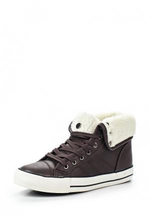 Кеды T.P.T. Shoes. Цвет: коричневый