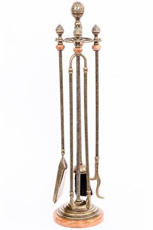 Аксессуары для камина Stilars. Цвет: бронзовый