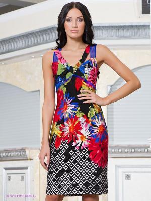 Платье Vito. Цвет: черный, красный, белый, синий, голубой