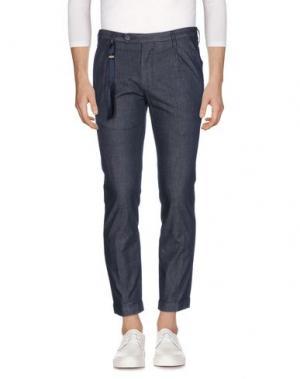 Джинсовые брюки FUTURO. Цвет: синий