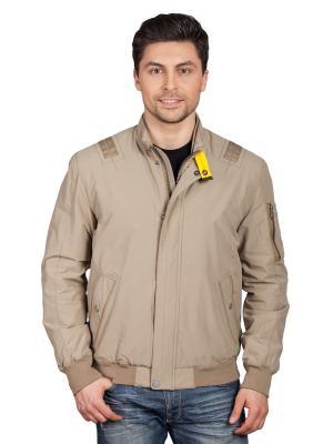 Куртка TAIS. Цвет: темно-бежевый