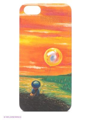 Чехол IPhone 5 KAFKAFIVE-41 Mitya Veselkov. Цвет: оранжевый, зеленый, красный