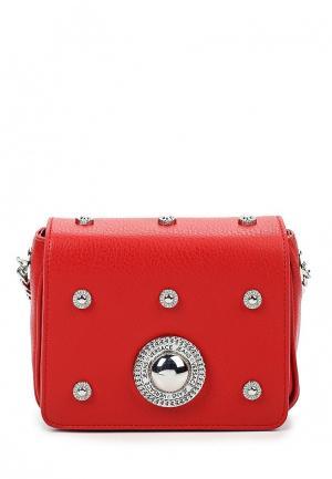 Сумка Versace Jeans. Цвет: красный