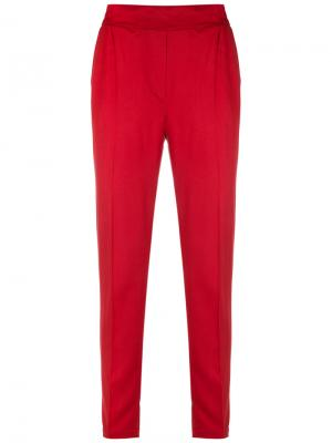 Tapered trousers Reinaldo Lourenço. Цвет: красный