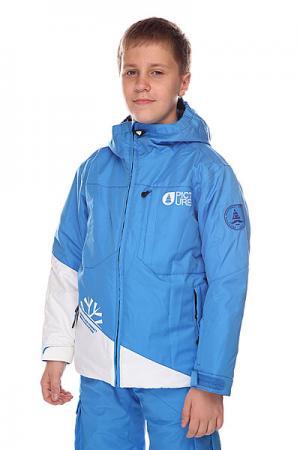 Куртка детская  First Alaska Blue Picture Organic. Цвет: голубой