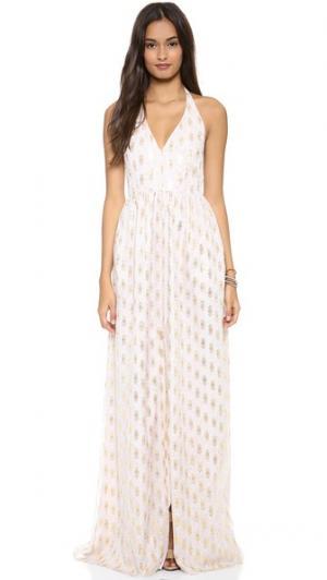 Макси-платье Ballard Rae Francis. Цвет: золотистый мульти