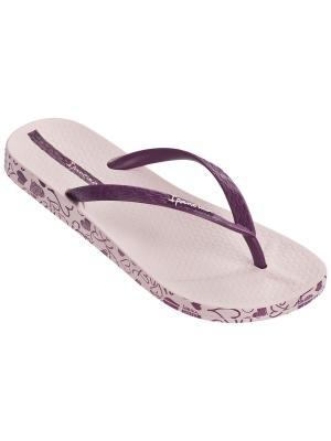 Пантолеты Ipanema. Цвет: бледно-розовый, фиолетовый
