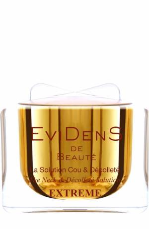 Концентрат для шеи и декольте EviDenS de Beaute. Цвет: бесцветный