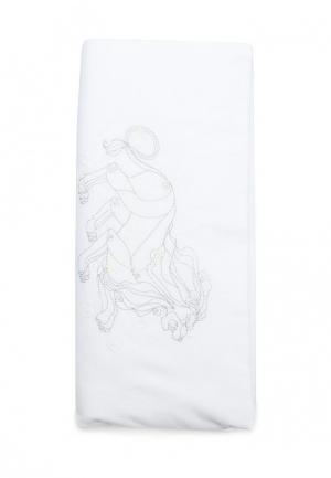 Комплект постельного белья для новорожденных Cloud factory. Цвет: белый